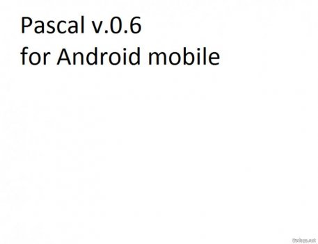 Pascal для Android 1.6 +