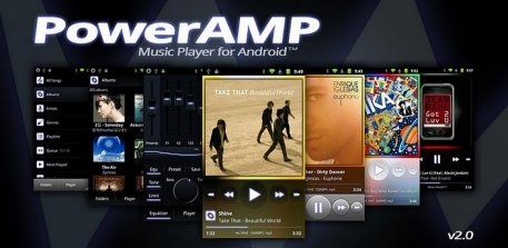 Power AMP (v.2.0.4 + Patch + Widget + SKIN) для Android
