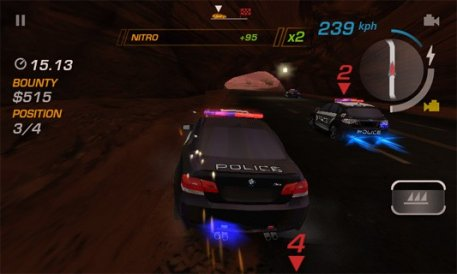 Android Need for Speed: Hot Pursuit