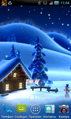Cartoon Winter Live Wallpaper для Android