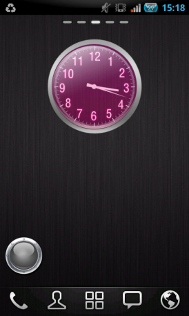 Clock GO Widget для Android